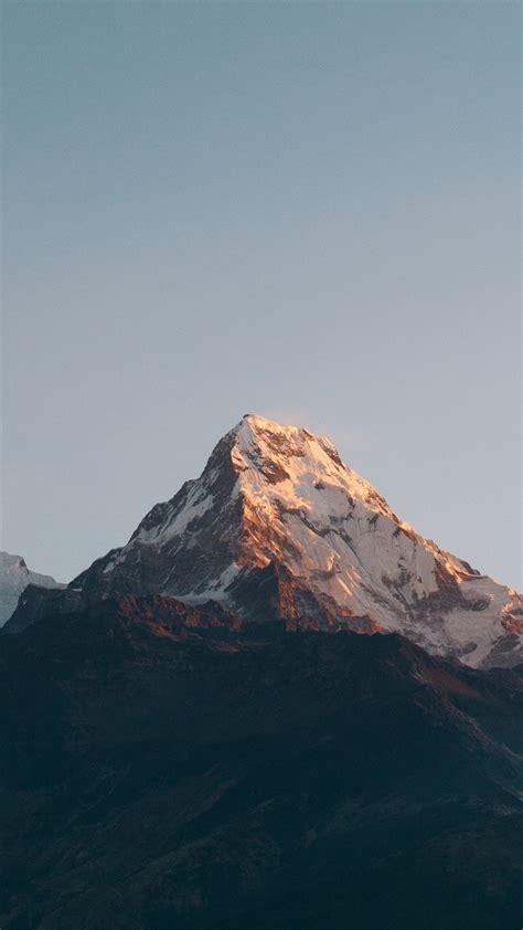 wallpaper annapurna massif himalayas nepal mountains