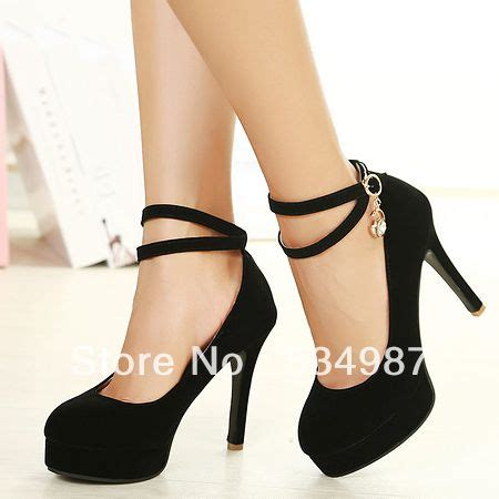 Wedges Pin Merak 4 5cm fashion closed toe stiletto high heels black suede