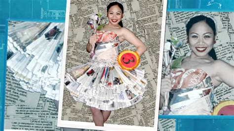 galleries vestidos elaborados con material reciclable flickr vestidos de material reciclable para ni 241 as imagui