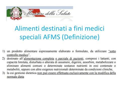 alimenti dietetici destinati a fini medici speciali afms alimenti per fini medici speciali quadro