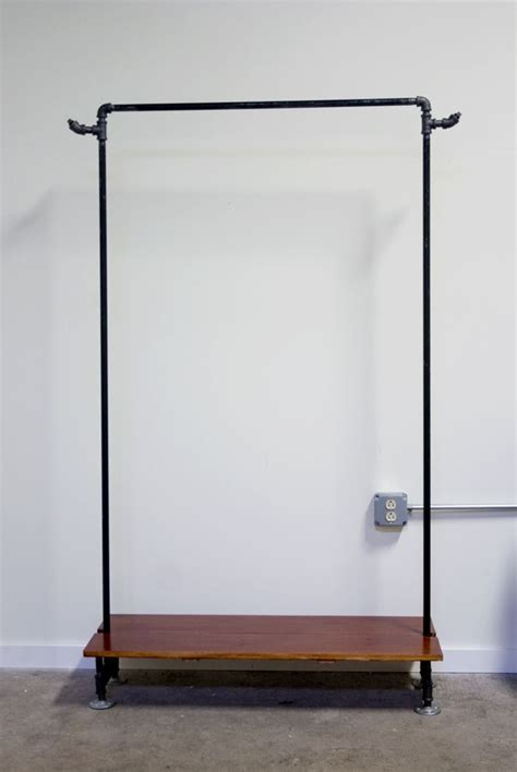 1000 ideas about pipe clothes rack on pipe