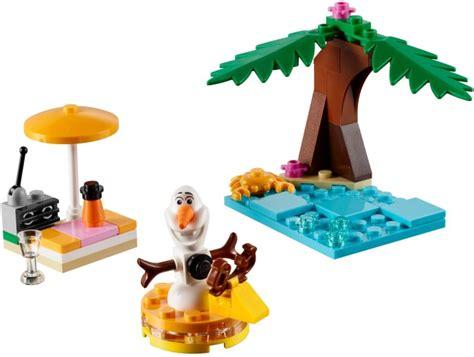 Disney Frozen Brick Minifigure Olaf 30397 1 olaf s summertime brickset lego set guide and database