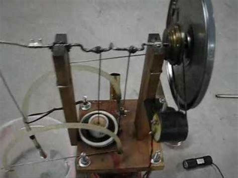 Handmade Engine - small diy stirling engine charges cell phone