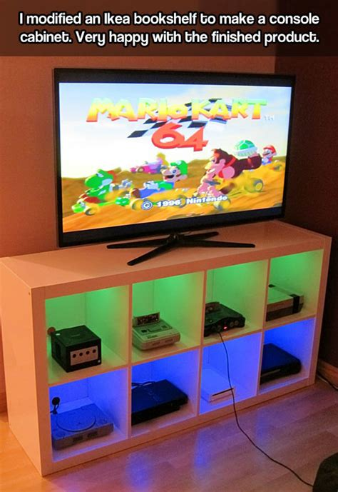 video game console cabinet console cabinet from ikea the meta picture