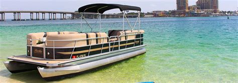 destin pontoon rentals destin half day rent boats destin