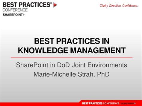 knowledge management best practices best practices in sharepoint for knowledge management