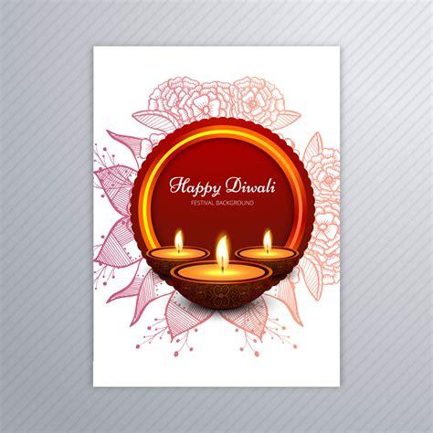 decorative card design decorative diwali greeting card template design download