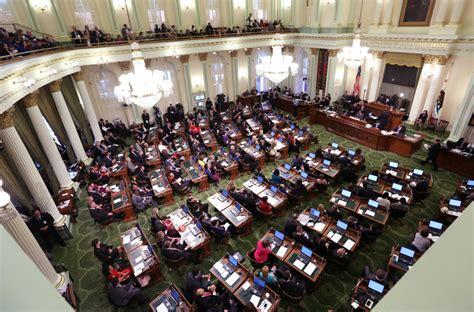 california state legislature california lawmakers vote for earlier primary elections