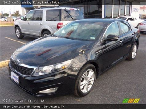 Black 2013 Kia Optima Black 2013 Kia Optima Lx Beige Interior