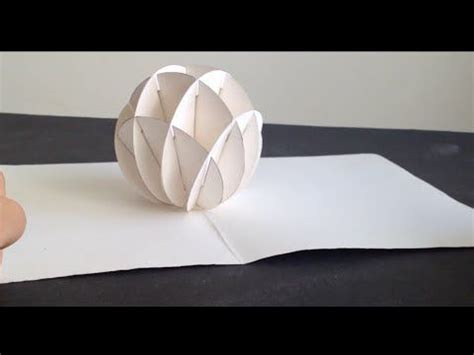 kirigami spinning card template best 25 kirigami tutorial ideas on 3d on