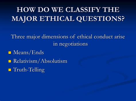 ppt ethics in negotiation powerpoint presentation id 720752