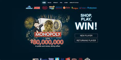 Albertsons Monopoly Sweepstakes - albertsons monopoly collect and win game 2015