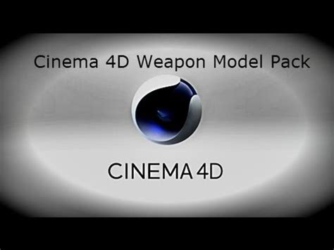 free cinema 4d gun templates with textures doovi