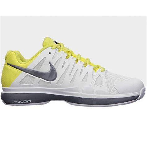 nike zoom vapor 9 tour white yellow grey s
