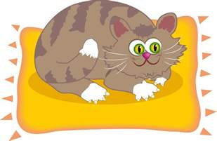 cat on the mat free images at clker vector clip