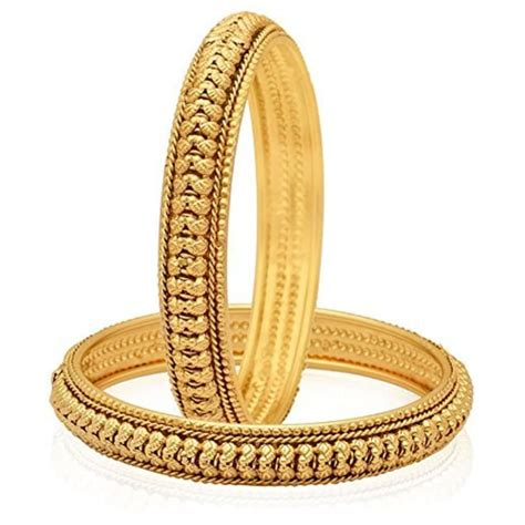 Bangle Gold Plated by Youbella Gold Plated Bangles Jewellery For And