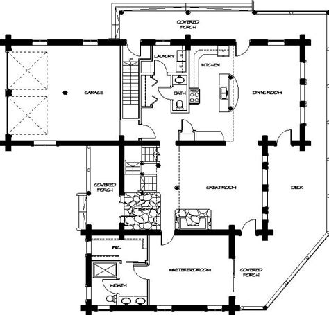 log lodge floor plans log home floor plans montana log homes floor plan 045