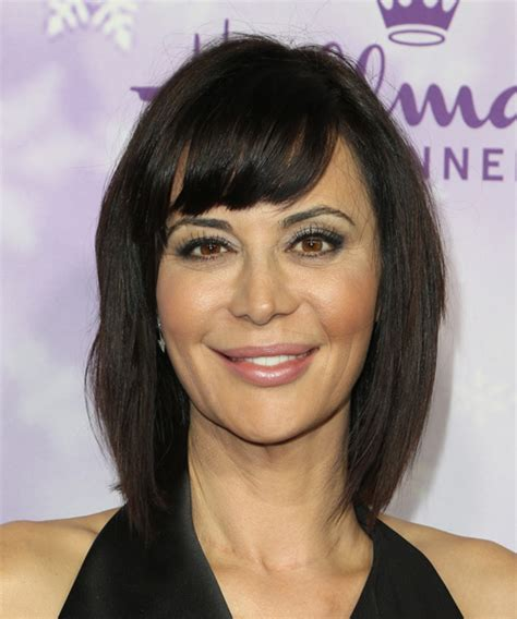 catherine bell good witch hair styles catherine bell medium straight casual hairstyle
