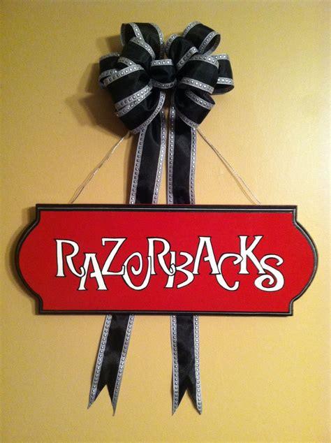 Razorback Decor by Arkansas Razorbacks Things To Make Decor