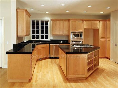 maple kitchen cabinets new interior design