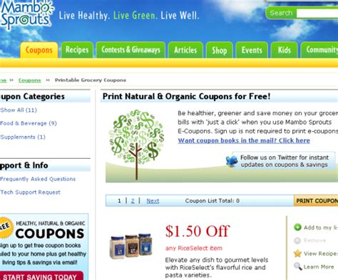 printable grocery coupon websites the top 10 grocery coupon websites for cheapskates