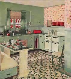 cute style kitchen: cute vintage kitchen by armstrong linoleum eat in kitchen design