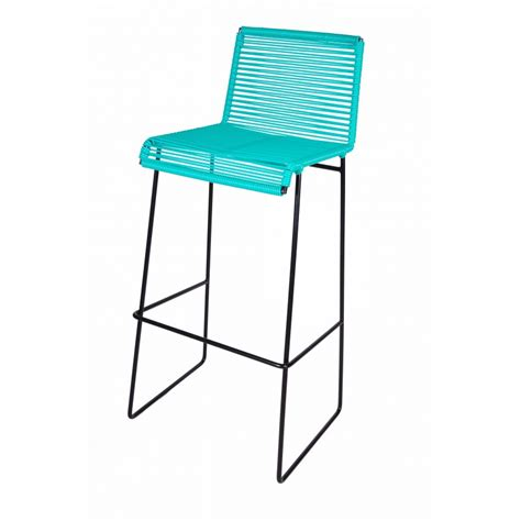 Aqua Metal Bar Stools by Turquoise Bar Stools Brighten Your Kitchen Bar Homesfeed