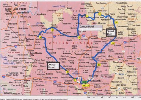 nau map the chronicles road trip northern arizona