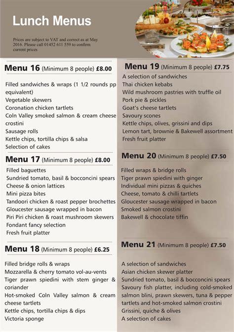 hedleys platter menus buffet catering sandwich bar