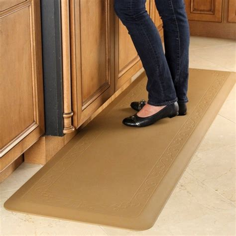 kitchen floor mat memory foam kitchen floor mat pu decorative best kitchen