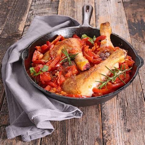 recettes cuisine fran軋ise traditionnelle recette poulet basquaise facile