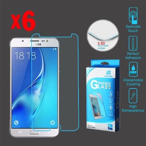 Tempered Glass Galaxy J7 galaxy j7 tempered glass screen protector 6 pack dawg pound sales
