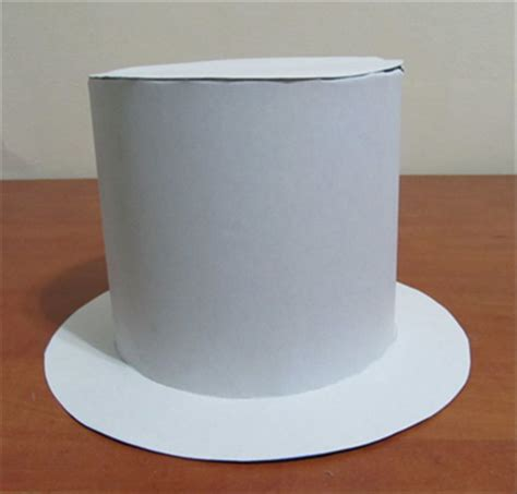 How To Make A Top Hat With Paper - how to make a cardboard top hat cardboard stuff for all