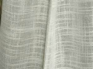 Linen Fabric Curtains Linen Look Semi Sheer Curtains Fabric 118 Inches Wide By Eleptolis