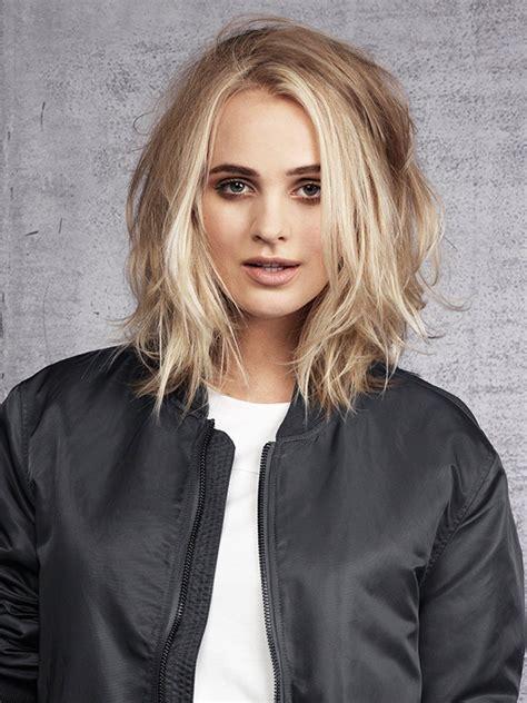 Frisuren Haarschnitt by Mittellange Frisurentrends 2018 Frisuren F 252 R Dickes Haar