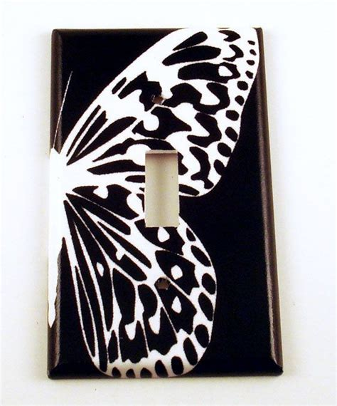 butterfly light switch cover switchplate wall decor light switch cover single switch