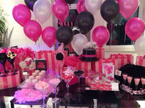 pink themed events victoria secret theme party so in love unique events