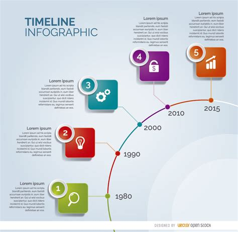 Best Resume Guide 2015 by Timeline Circle Infographic Free Vector