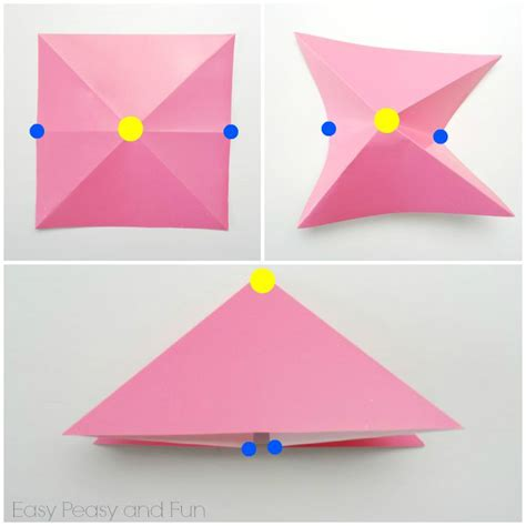 Simple Origami Fish - free coloring pages easy origami fish origami for