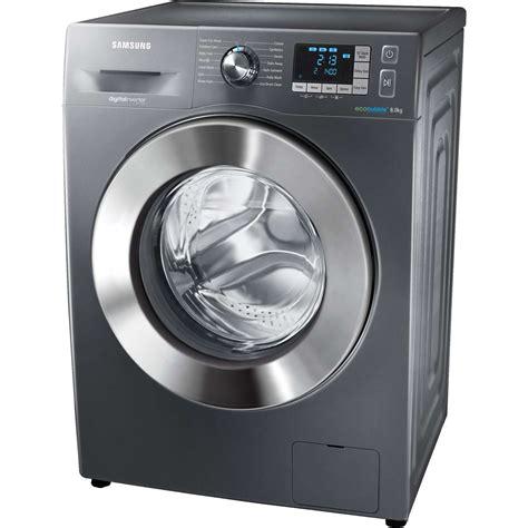 samsung washing machine samsung wf80f5e5u4x a 8kg 1400 spin washing machine in graphite silver new ebay