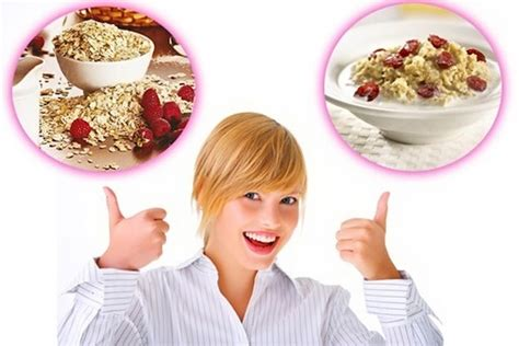 диета на овсянке для похудения живота