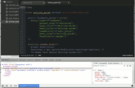 atom development themes hands on with github s atom text editor make tech easier