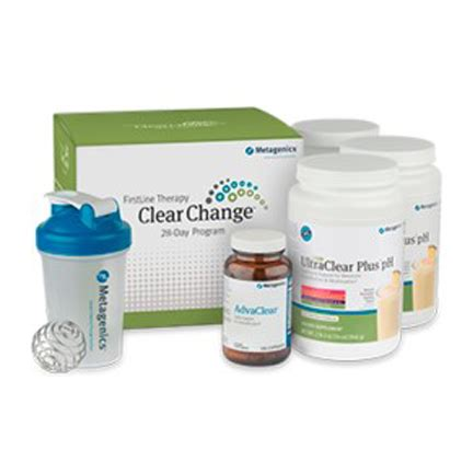 Metagenics Ultra Clear 28 Day Detox Program by Metagenics Clear Change 28 Day Detox Program With