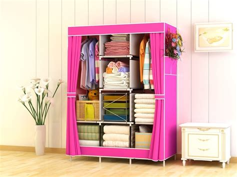 Lemari Violet jual lemari rak pakaian jumbo lemari baju cloth rack