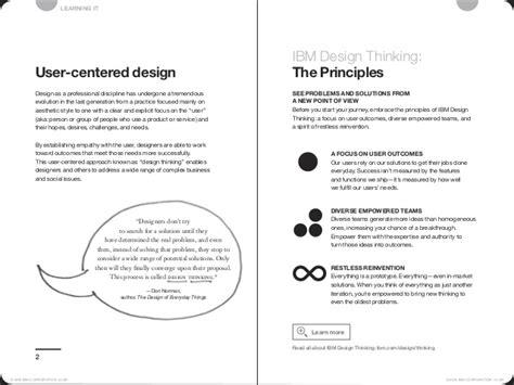 design thinking guide ibm design thinking field guide v3 4