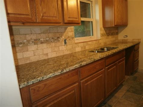 backsplash for countertops kitchen backsplash ideas with oak cabinets stainless steel