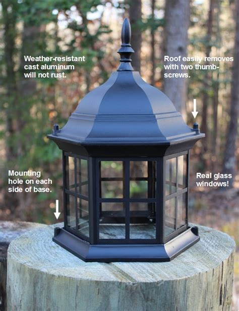 replacement solar light for lighthouse lighthouse replacement top with removable roof