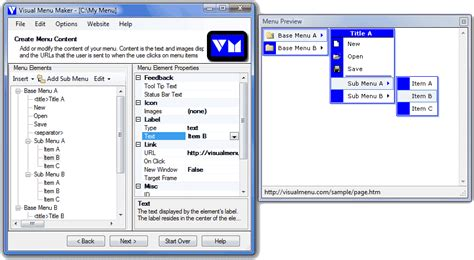 java themes maker software download visual menu maker 2 18 free download