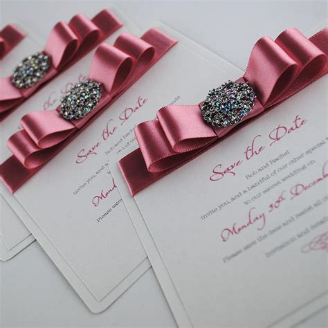 Handmade Save The Date Cards - luxury handmade save the date cards uk wedding