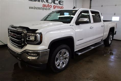 New 2017 GMC Sierra 1500 SLT 6.2L 8 CYL AUTOMATIC 4X4 CREW CAB for Sale in Middleton   Bruce